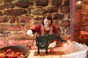 Apple Pie Making at Salem Cross Inn, West Brookfield, MA
