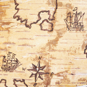 Old Sea Map177328973