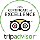 Trip Advisor Certificate of Excellence 2015 -- Salem Cross Inn, West Brookfield, MA